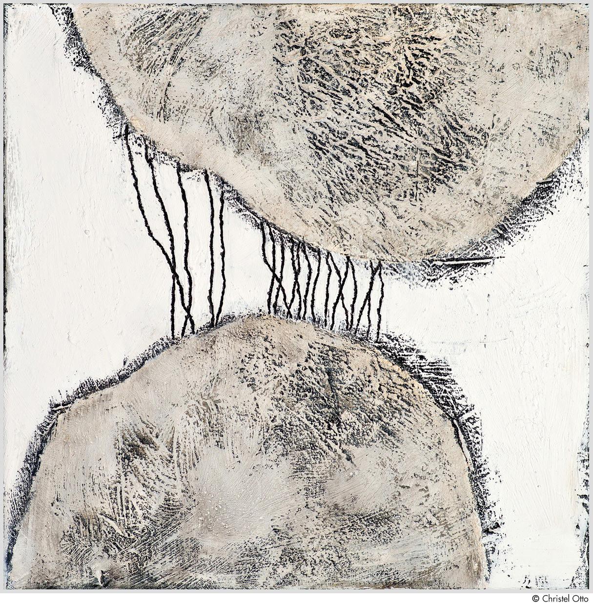 """Das Gemälde """"Nr. 38"""" von Christel Otto aus dem Akustikbilder Katalog der Firma AkuTec"""