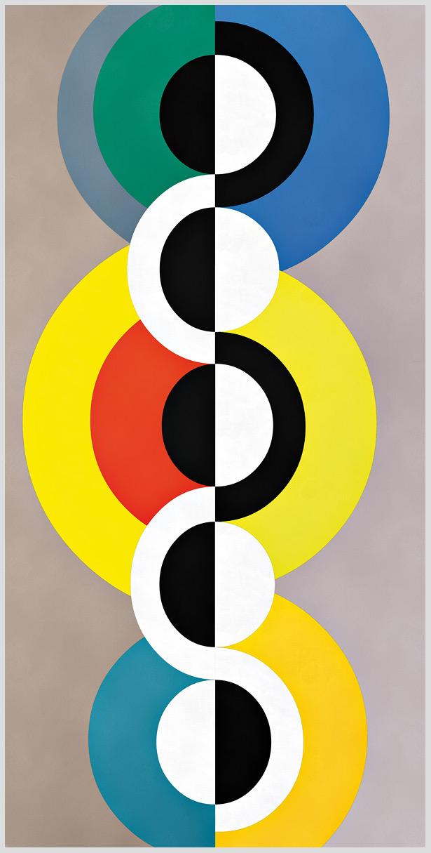 """Das Motiv """" unendlicher Rhythmus"""" von Guido Mayr aus dem Akustikbilder Katalog der Firma AkuTec"""