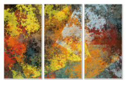"""Das Motiv """" JC07-Triptychon"""" von Guido Mayr aus dem Akustikbilder Katalog der Firma AkuTec"""