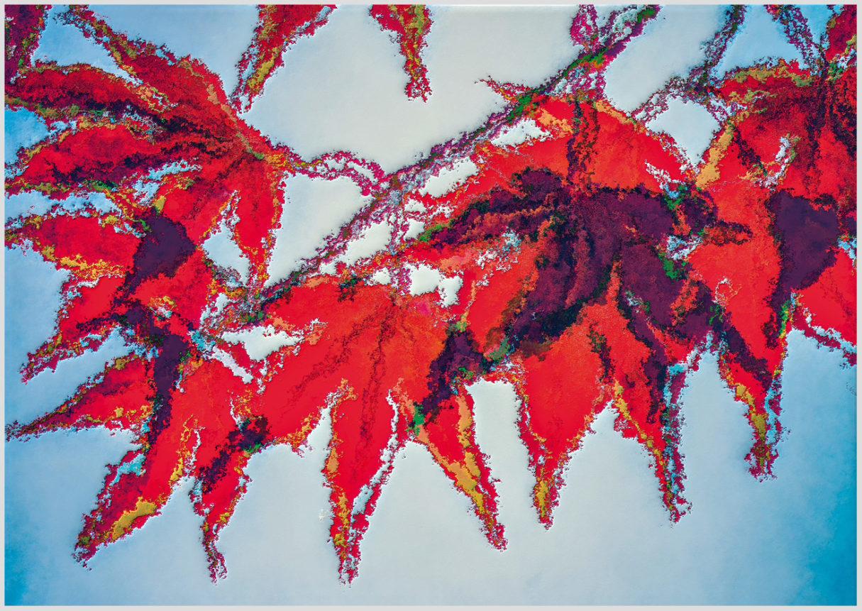 """Das Motiv """"Colorific"""" von Guido Mayr aus dem Akustikbilder Portfolio der Firma AkuTec"""